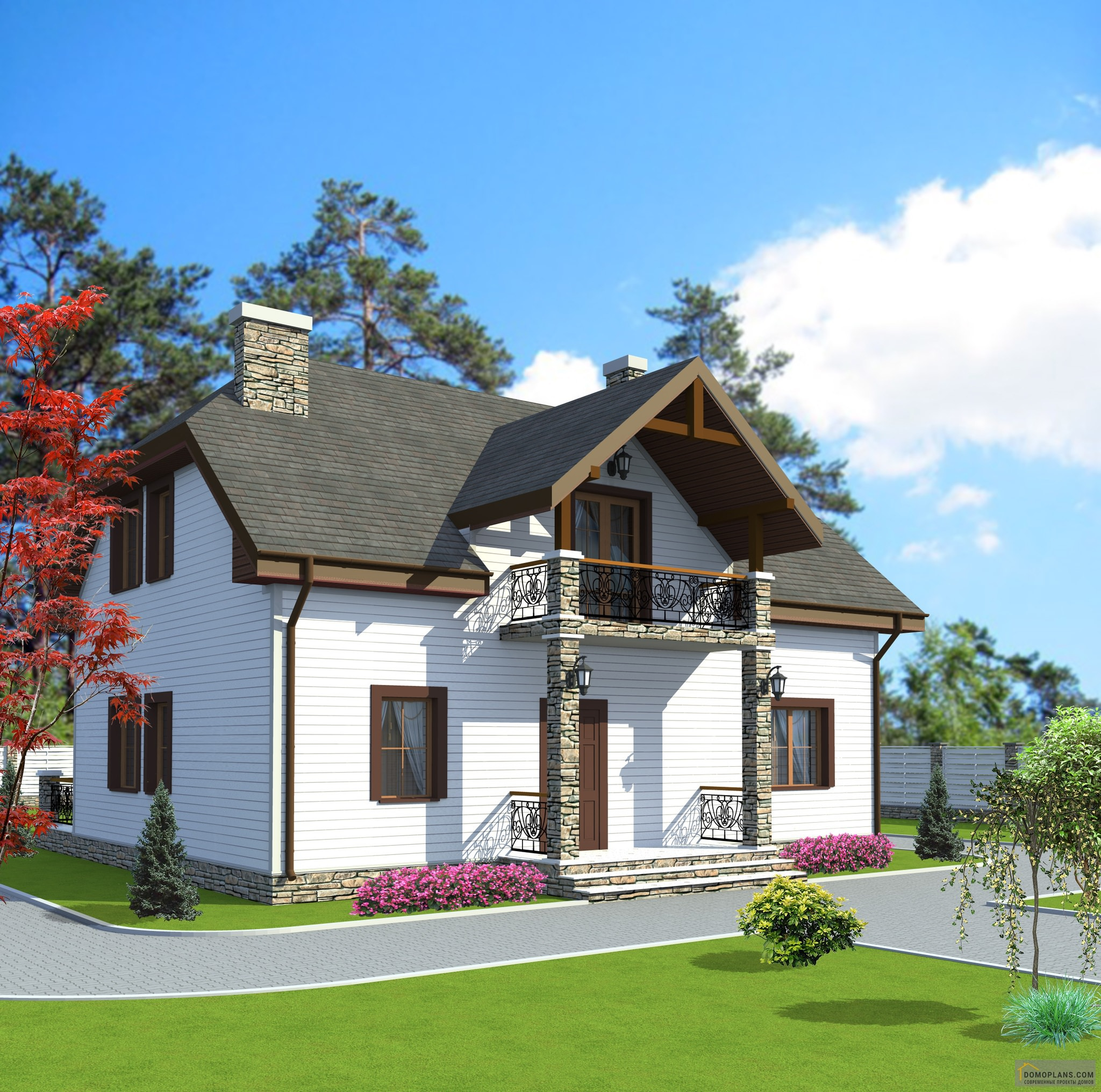 хочет афишировать красивый проект дома с фото и описанием роз свадьбу самый