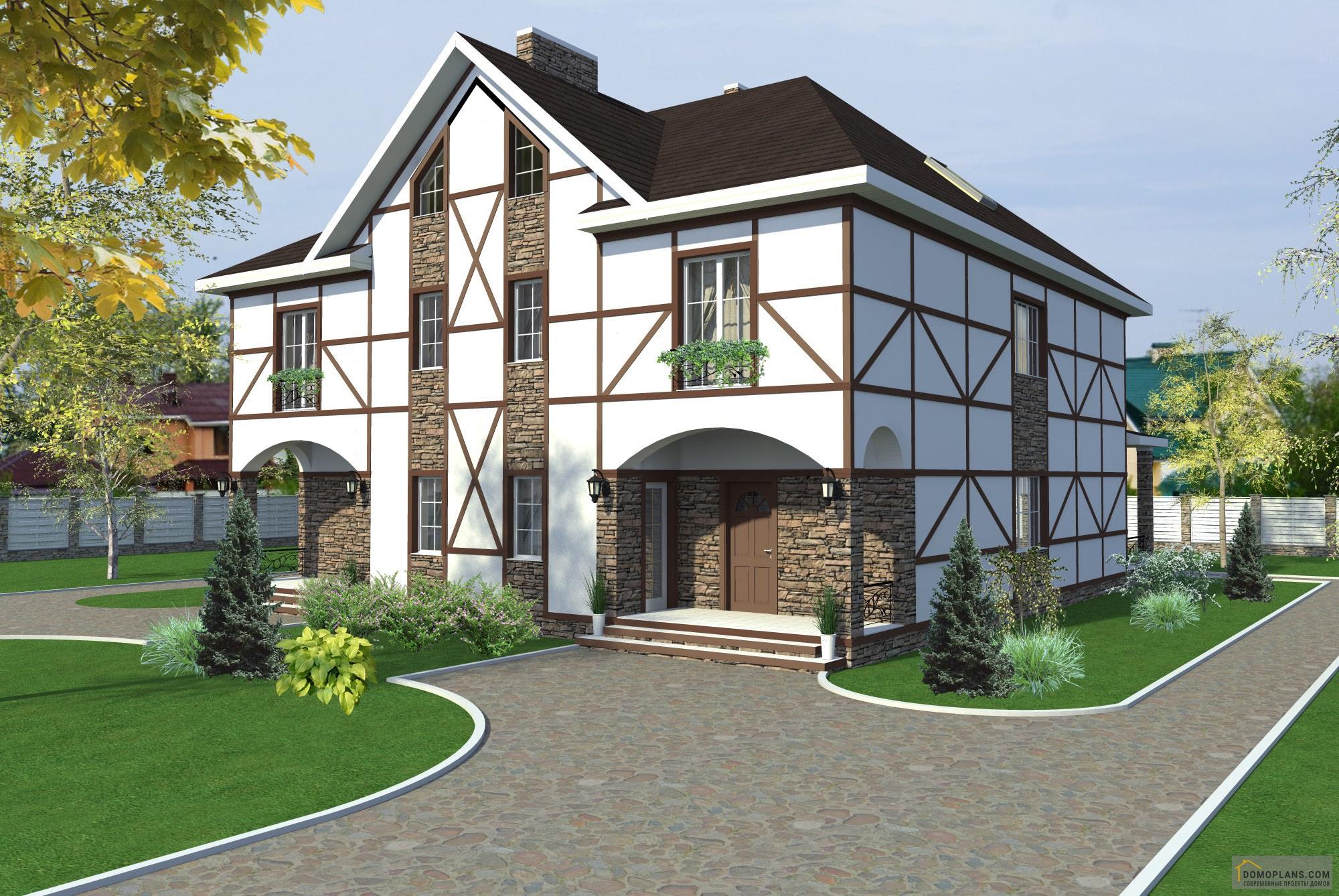 купить проект дома из бруса